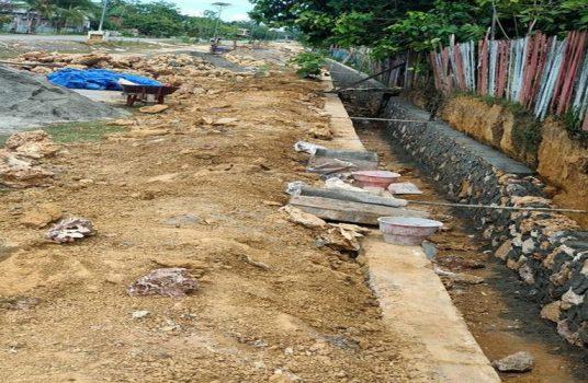 Proyek Drainase Di Kusambi Mubar Tidak Ada Papan Proyeknya